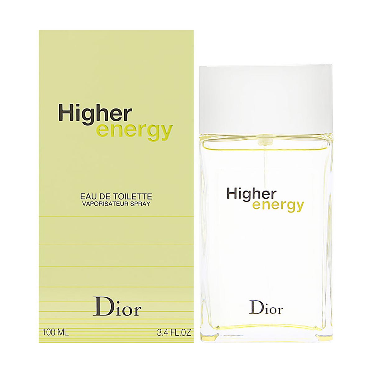 Dior higher energy eau de toilette 100ml vaporizador