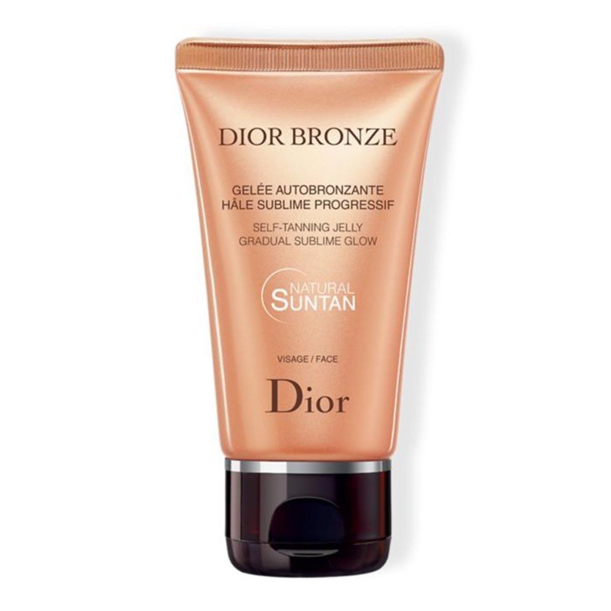 Dior bronze suntan natural self tanning jelly face crema 50ml