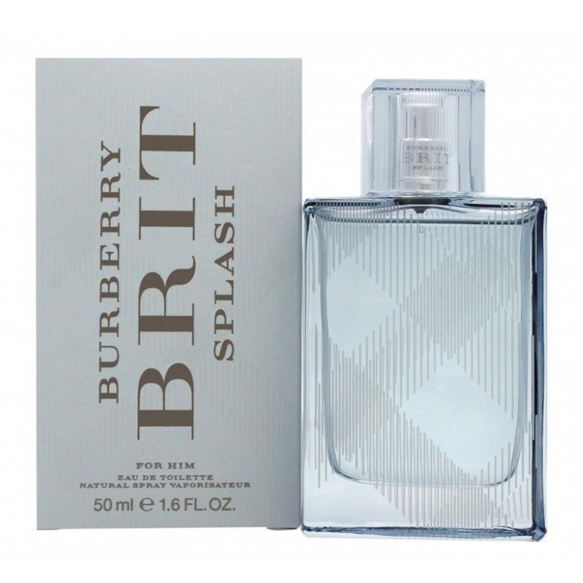 Burberry brit splash eau de toilette for him 50ml vaporizador