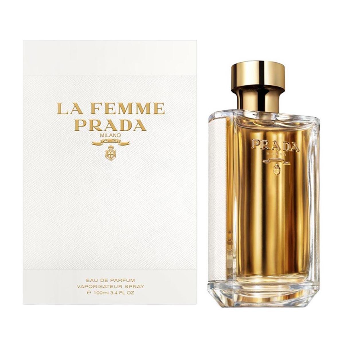 Prada la femme prada eau de parfum 100ml vaporizador