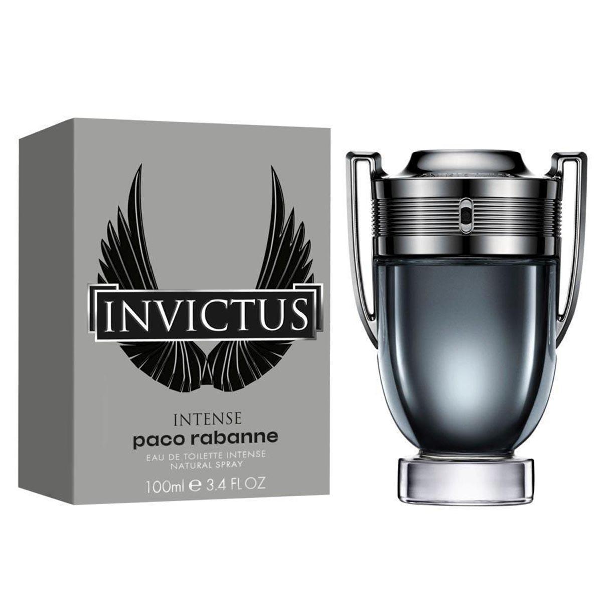Paco rabanne invictus intense eau de toilette 100ml vaporizador