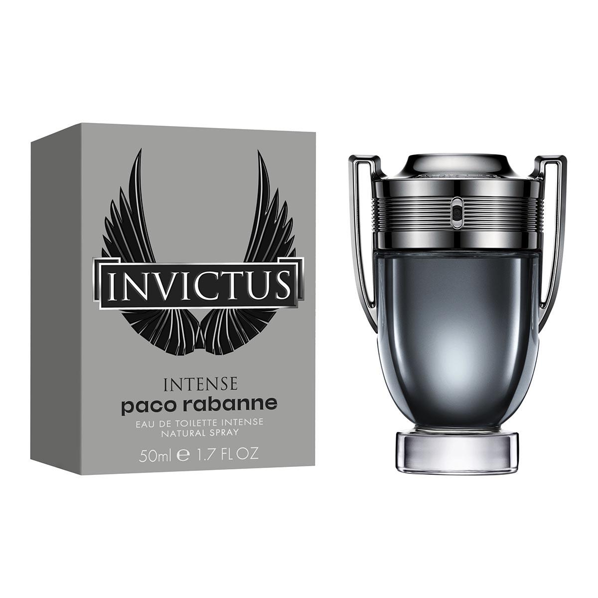 Paco rabanne invictus intense eau de toilette 50ml vaporizador