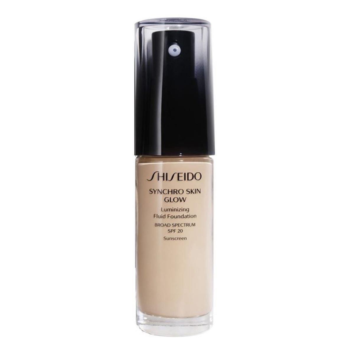 Shiseido synchro skin glow luminizing fluid foundation b40 30ml