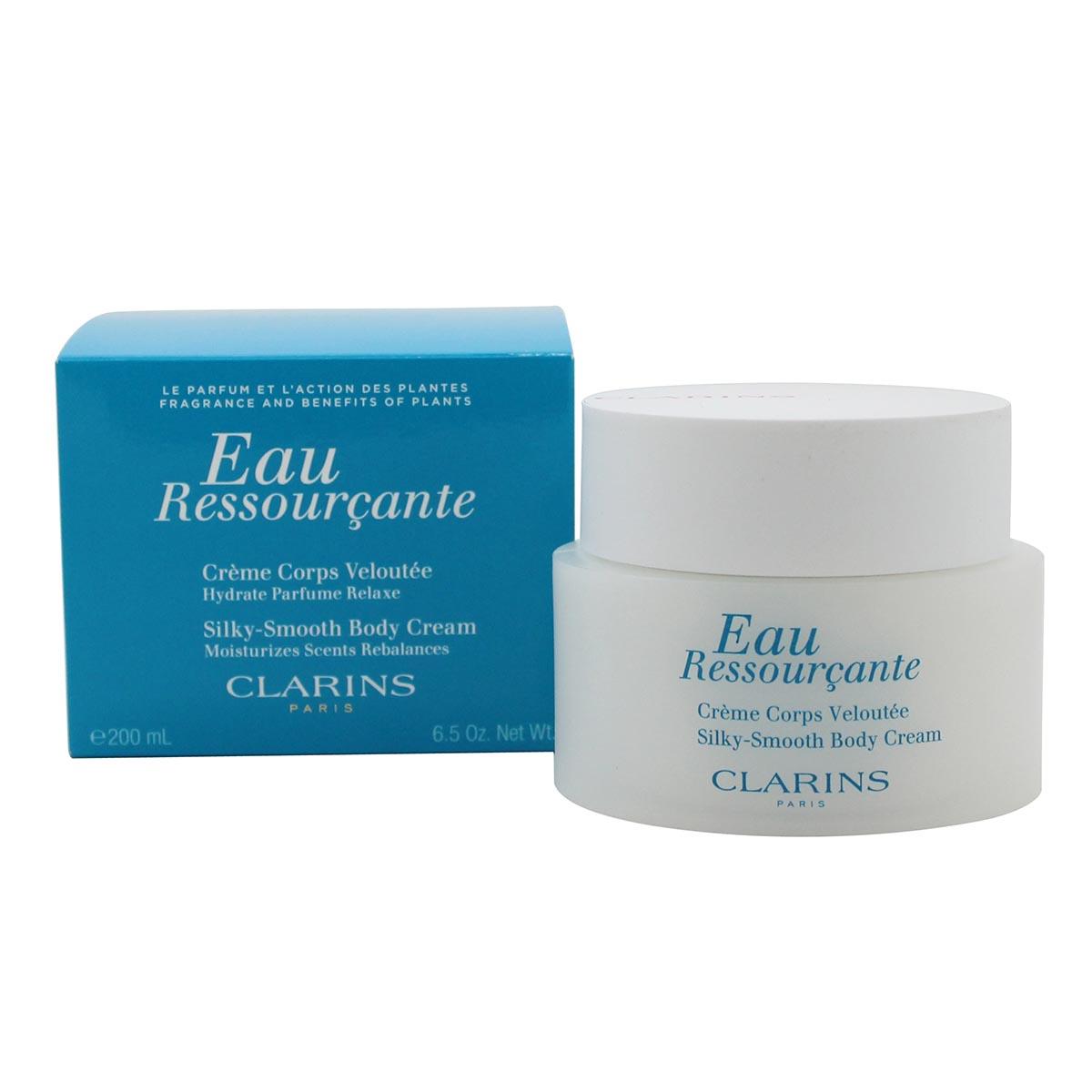 Clarins eau ressour ante silky smooth body cream 200ml