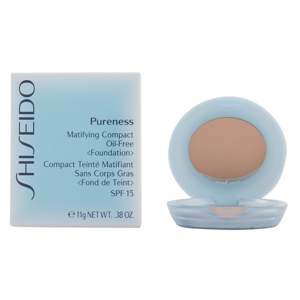 Shiseido pureness matifying compact oil free 20 light beige