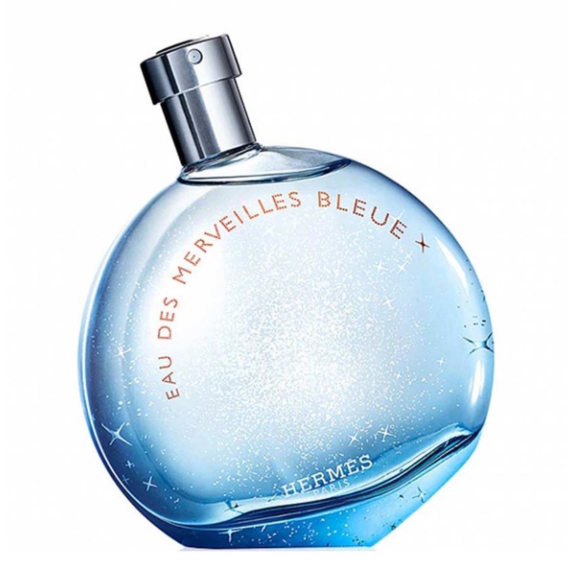Hermes paris eau des merveilles bleue eau de toilette 50ml vaporizador
