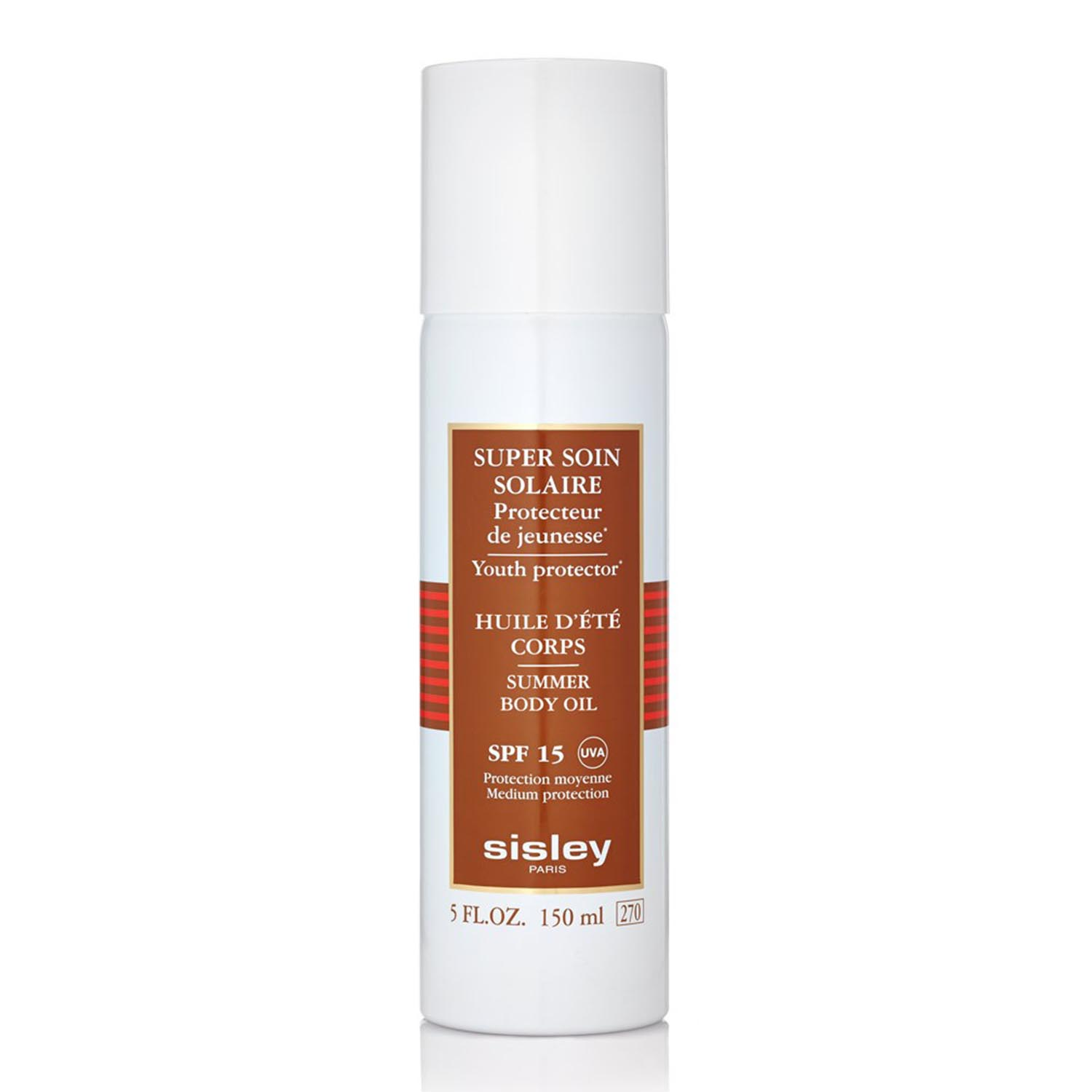 Sisley super soin solaire youth protector spf15 aceite corporal 150ml