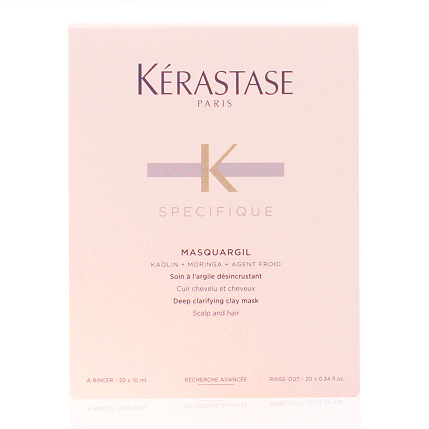 Kerastase specifique masquargil deep clarifying clay mask 20x10ml