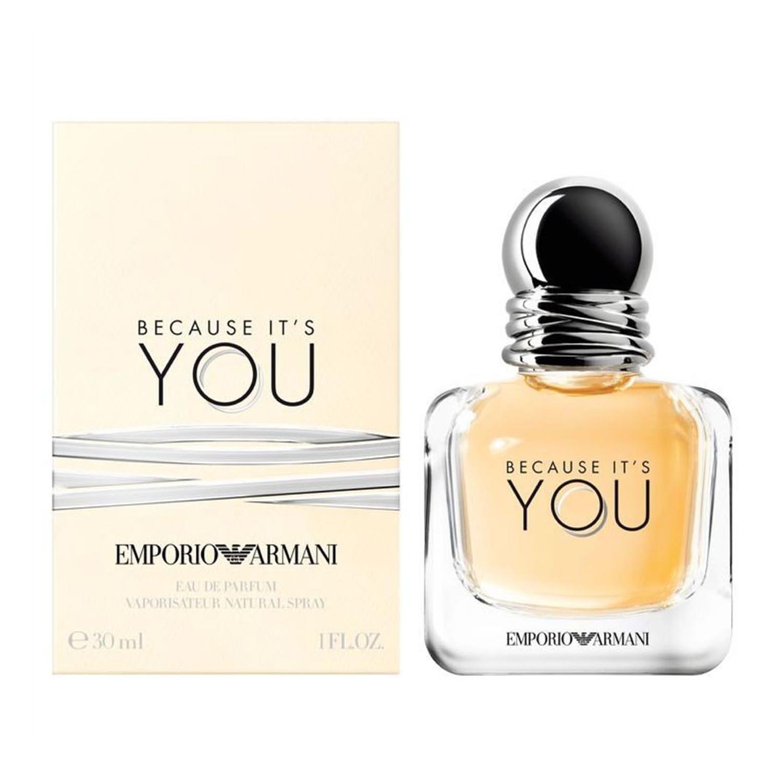 Giorgio armani because you eau de parfum 30ml vaporizador