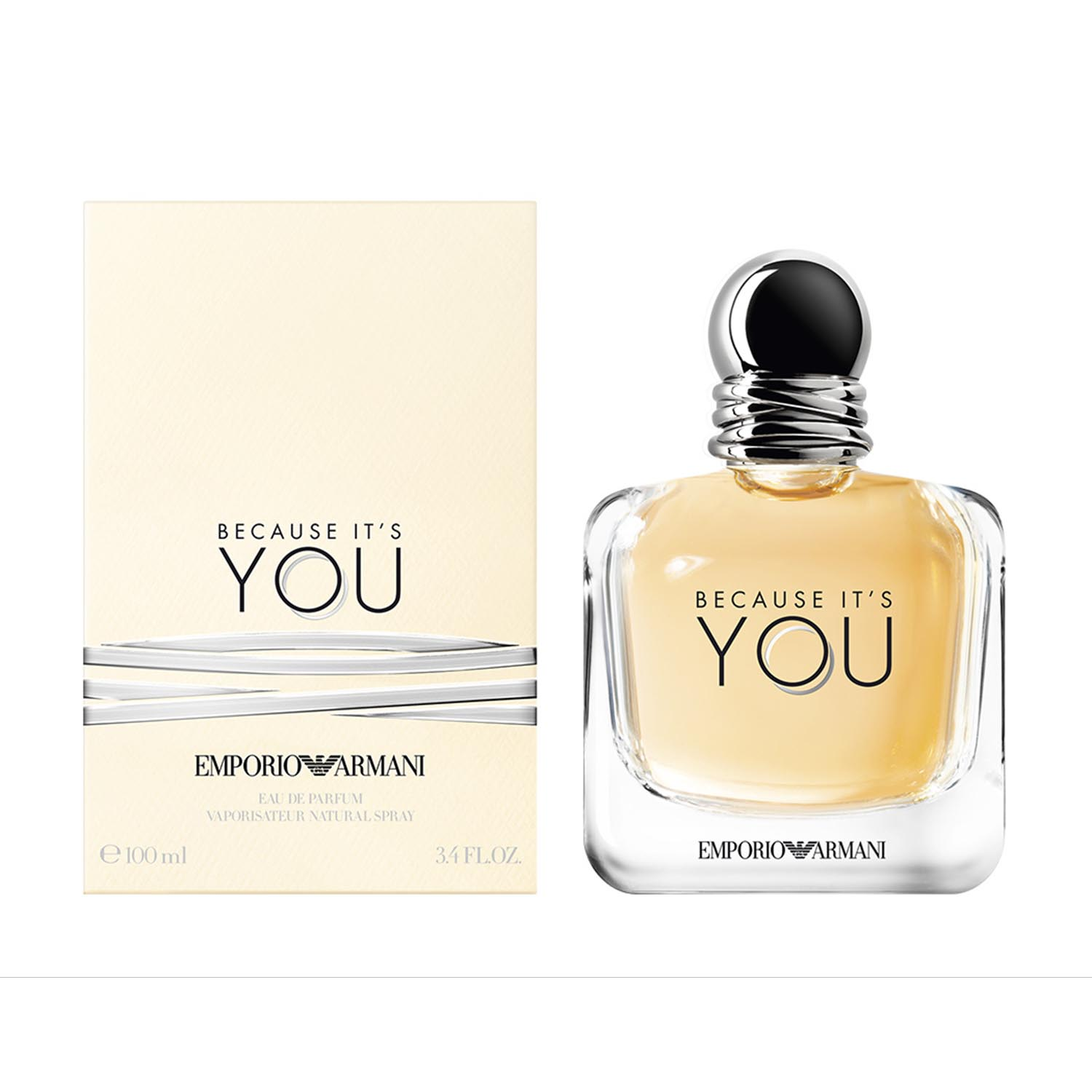 Giorgio armani because you eau de parfum 100ml vaporizador