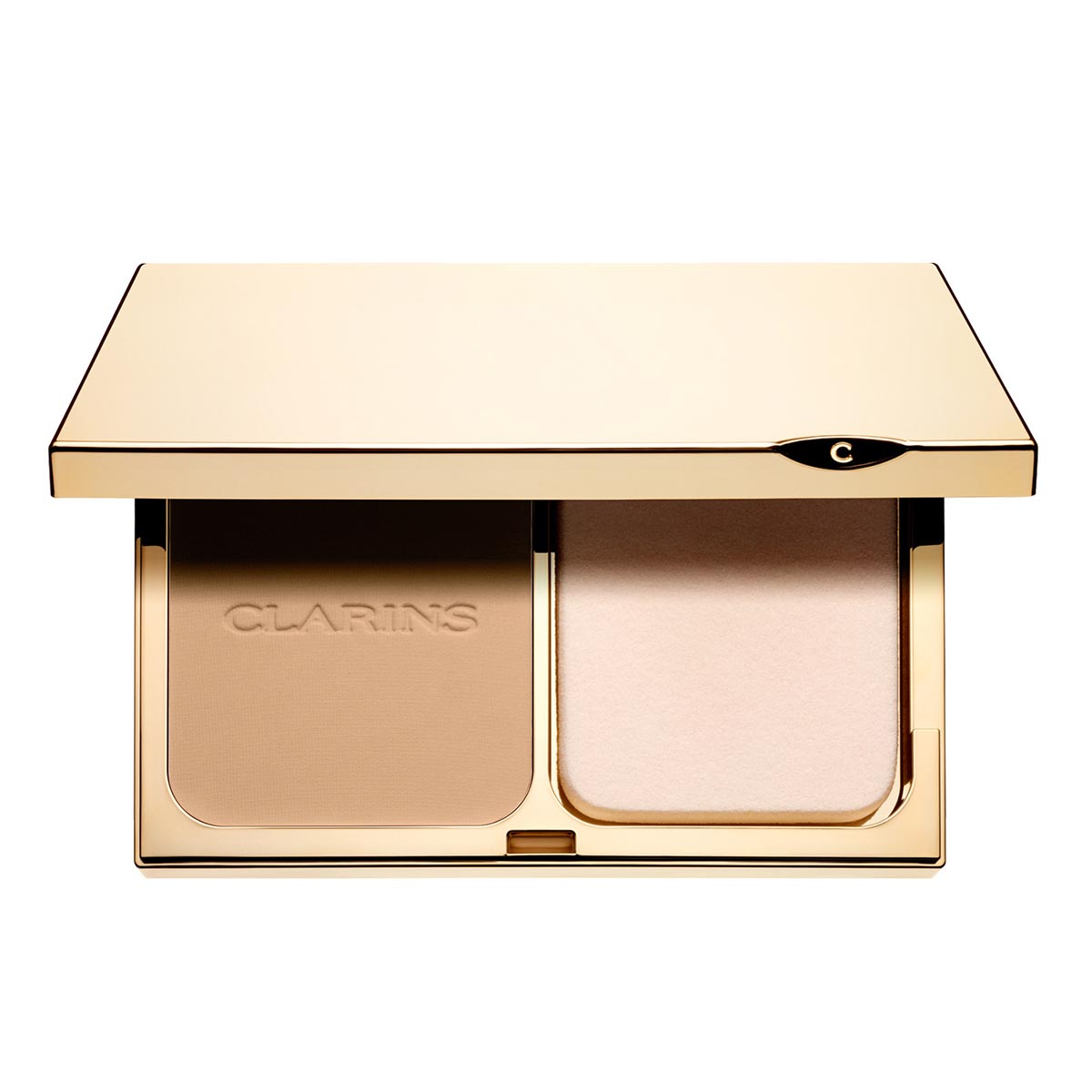 Clarins everlasting compact foundation 114 cappuccino