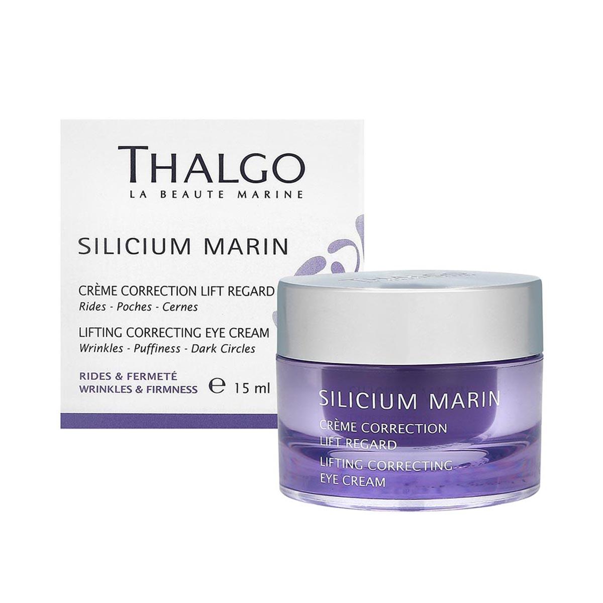 Thalgo creme silicium effet lifting regard 15ml