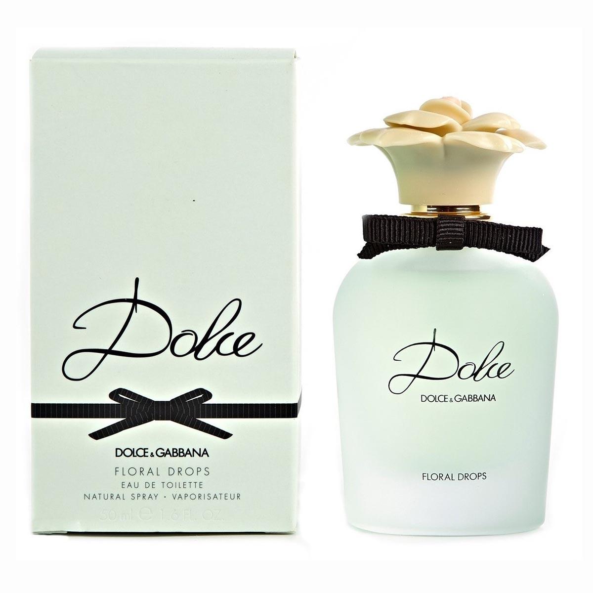 Dolce gabbana dolce floral drops eau de toilette 75ml vaporizador