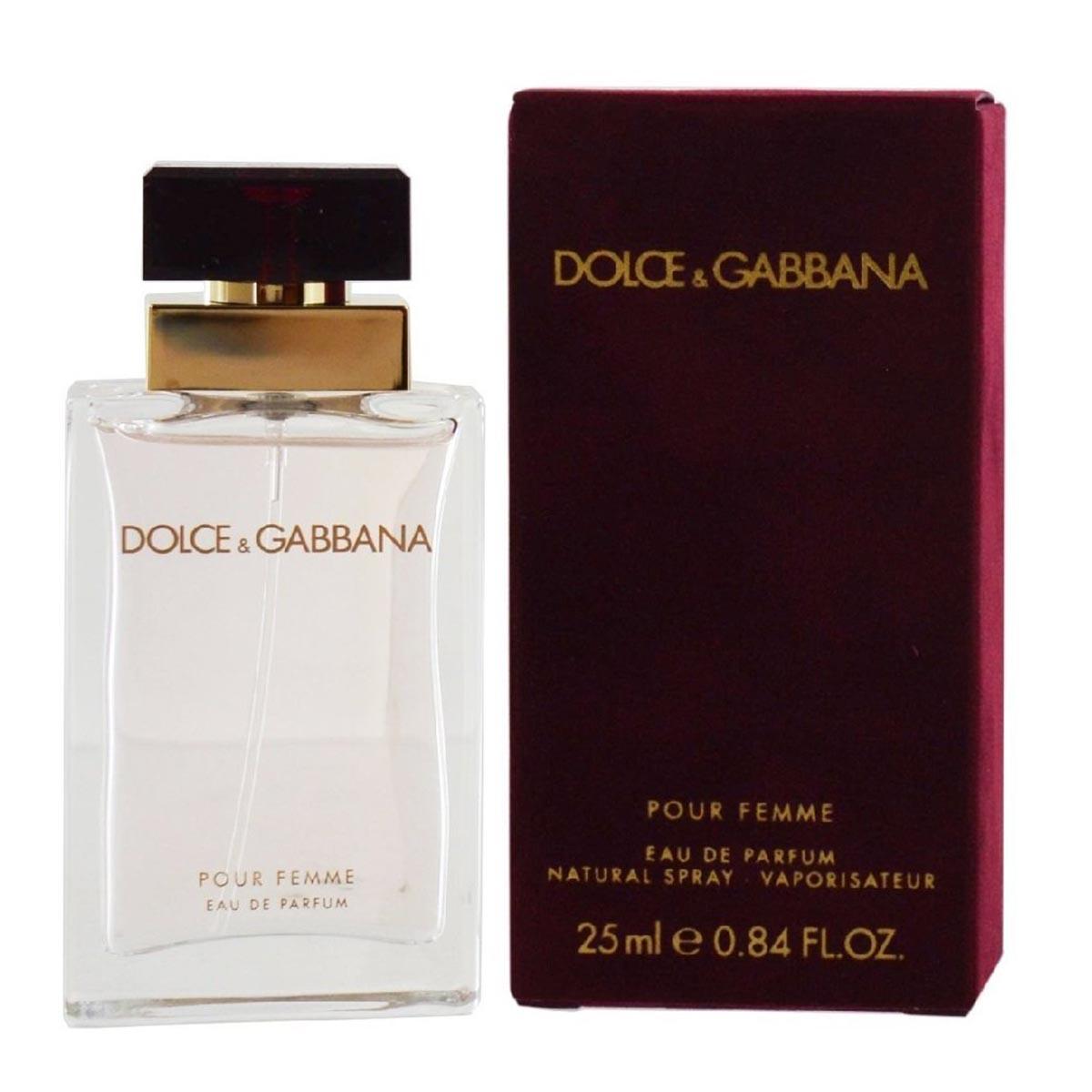 Dolce gabbana femme eau de parfum 25ml vaporizador