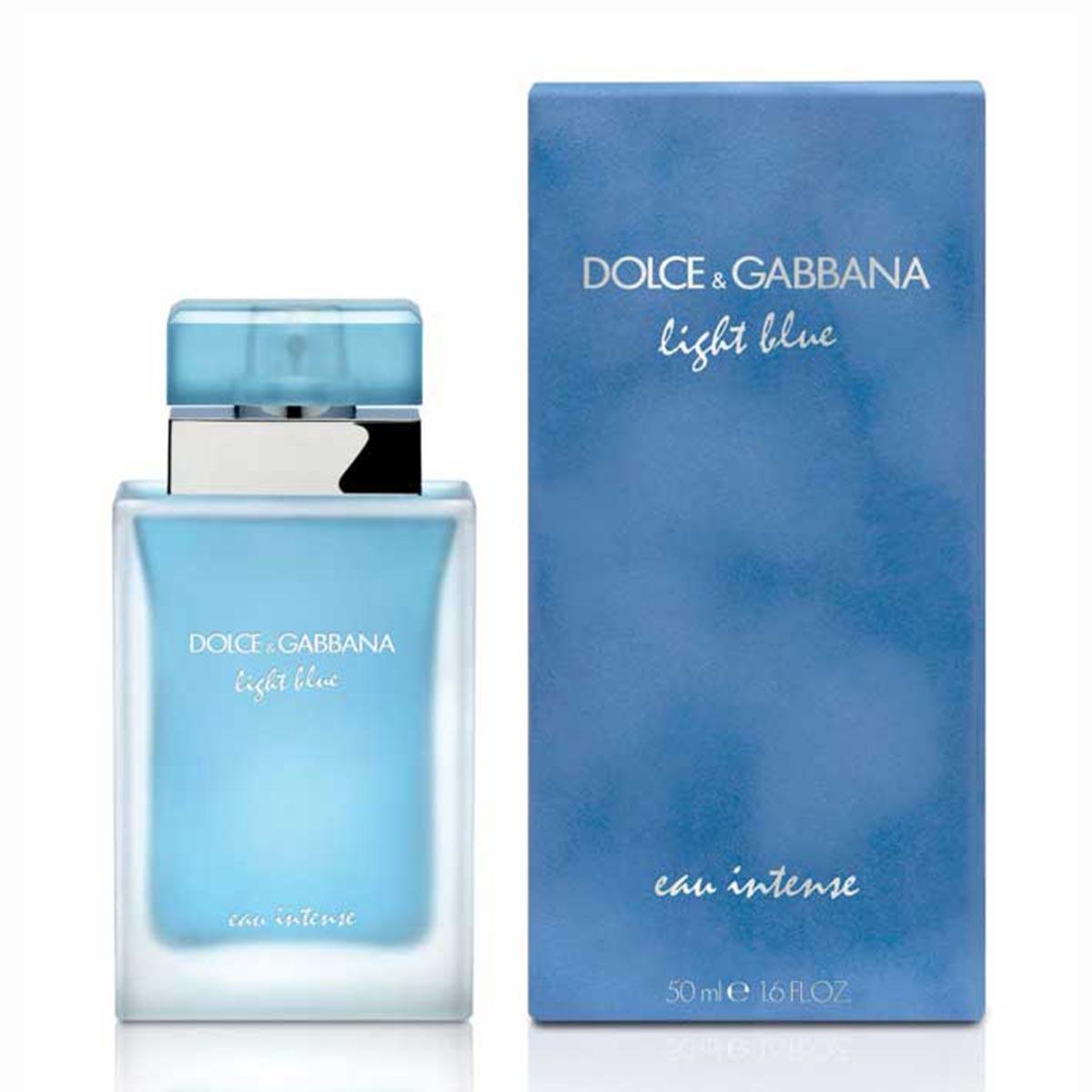 Dolce gabbana light blue eau intense eau de parfum 50ml vaporizador