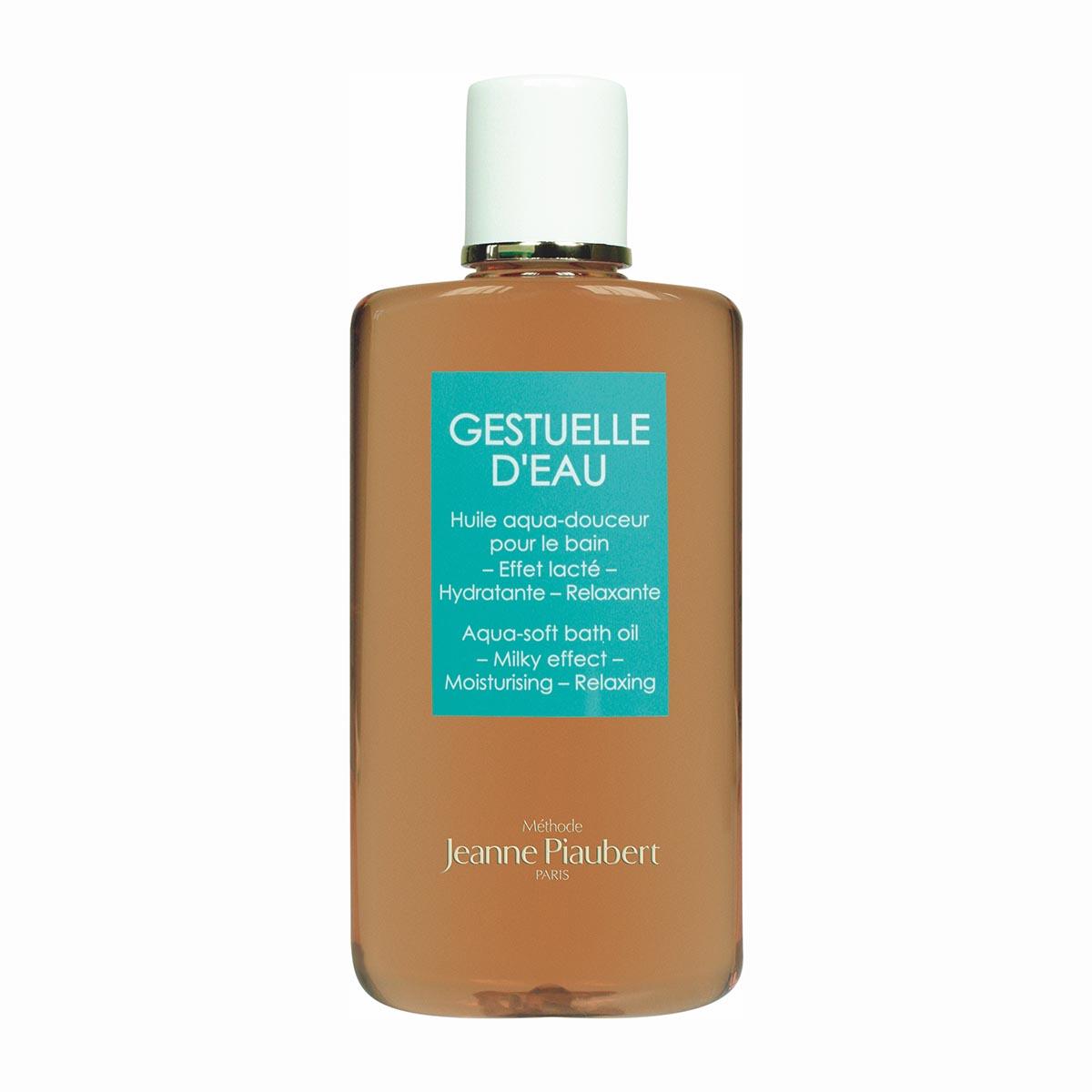 Jeanne piaubert gestuelle d eau aqua soft bath oil milky effect 200ml