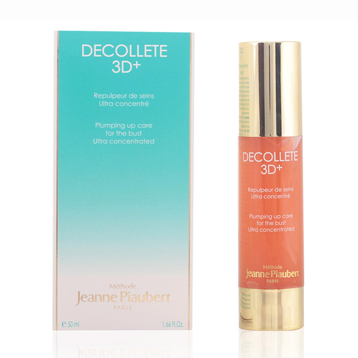 Jeanne piaubert decollete 3d plumping up care for the bust ultra concentrated 50ml vaporizador