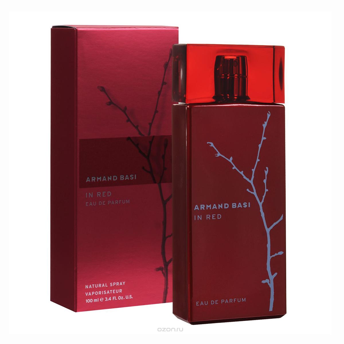 Armand basi in red eau de parfum 100ml vaporizador
