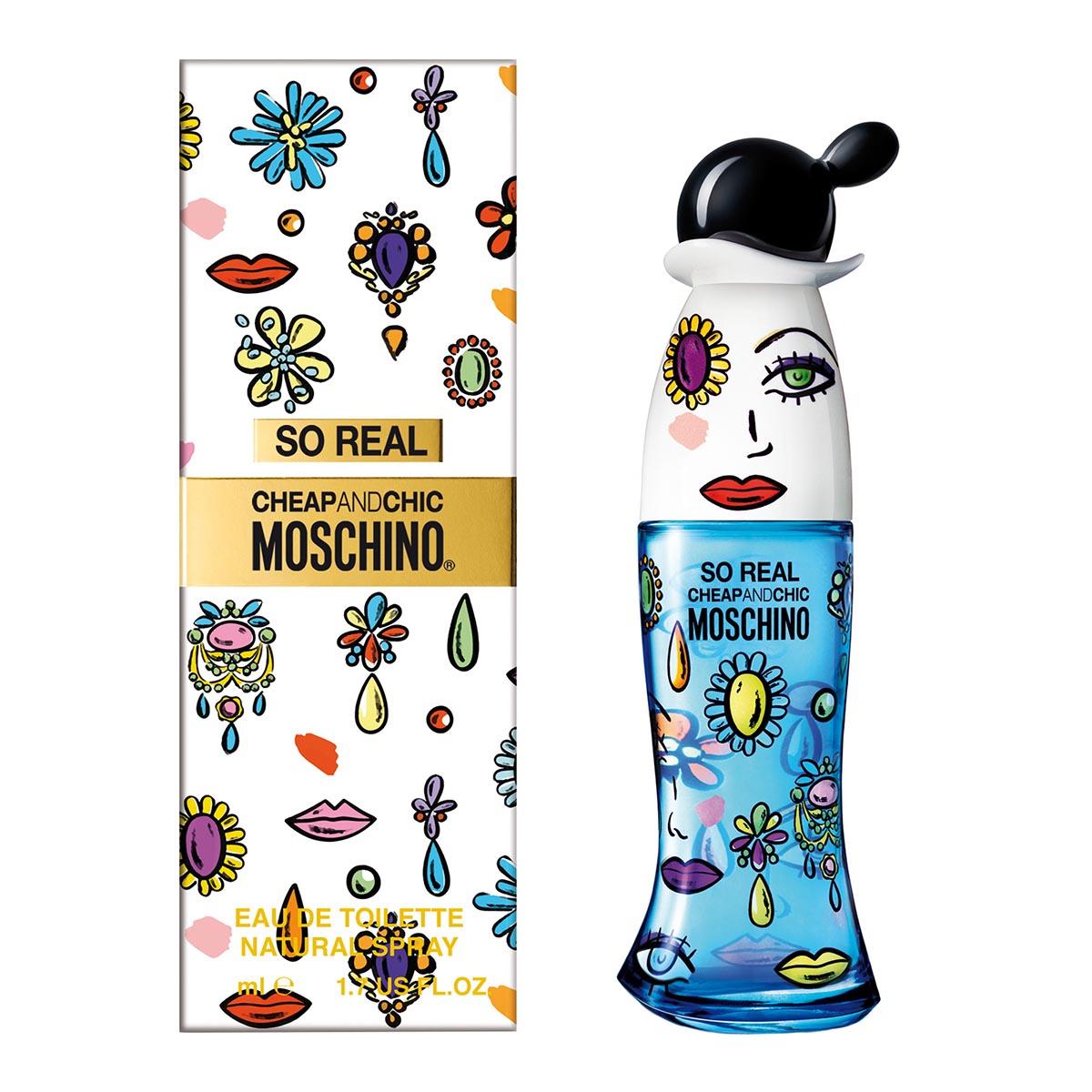 Moschino cheap chic so real eau de toilette 100ml vaporizador