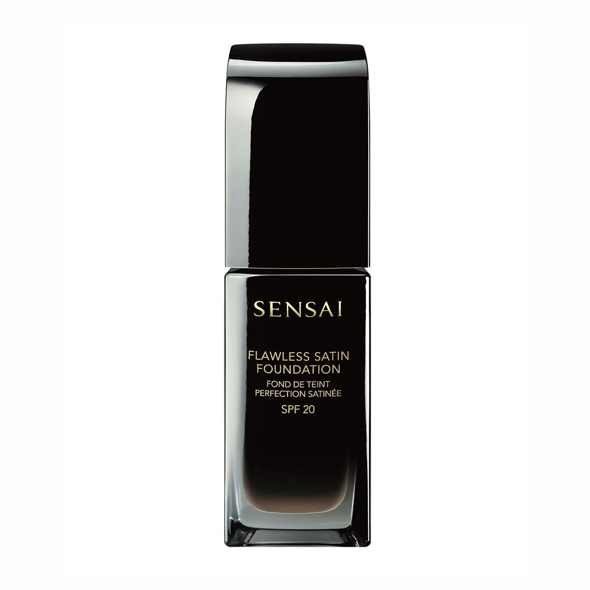 Kanebo sensai flawless satin foundation fs206 brown beige