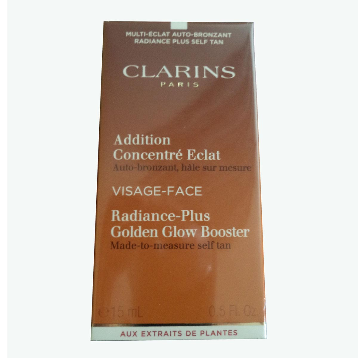 Clarins addition concentr eclat visage cream 15ml