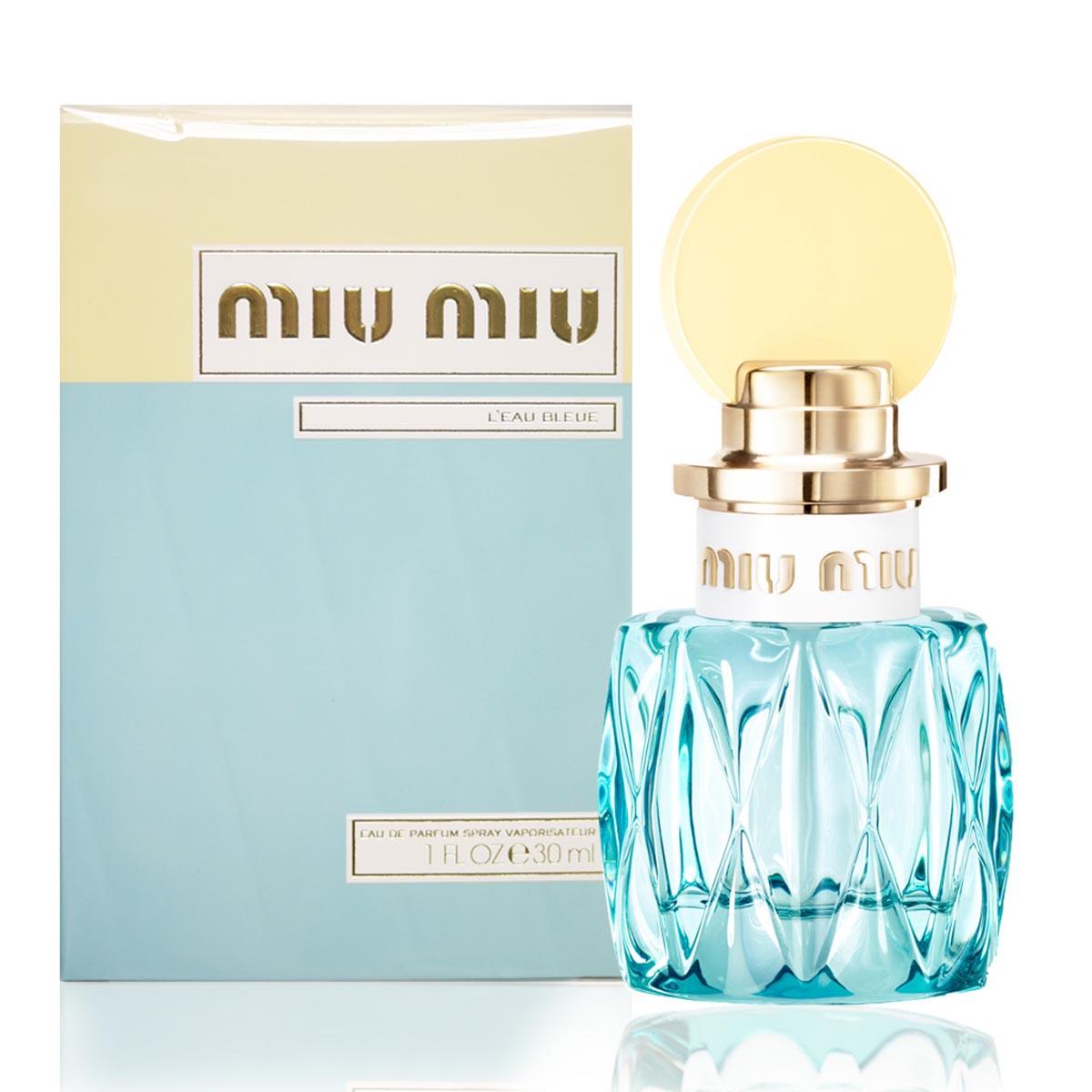 Miu miu l eau bleue eau de parfum 30ml vaporizador