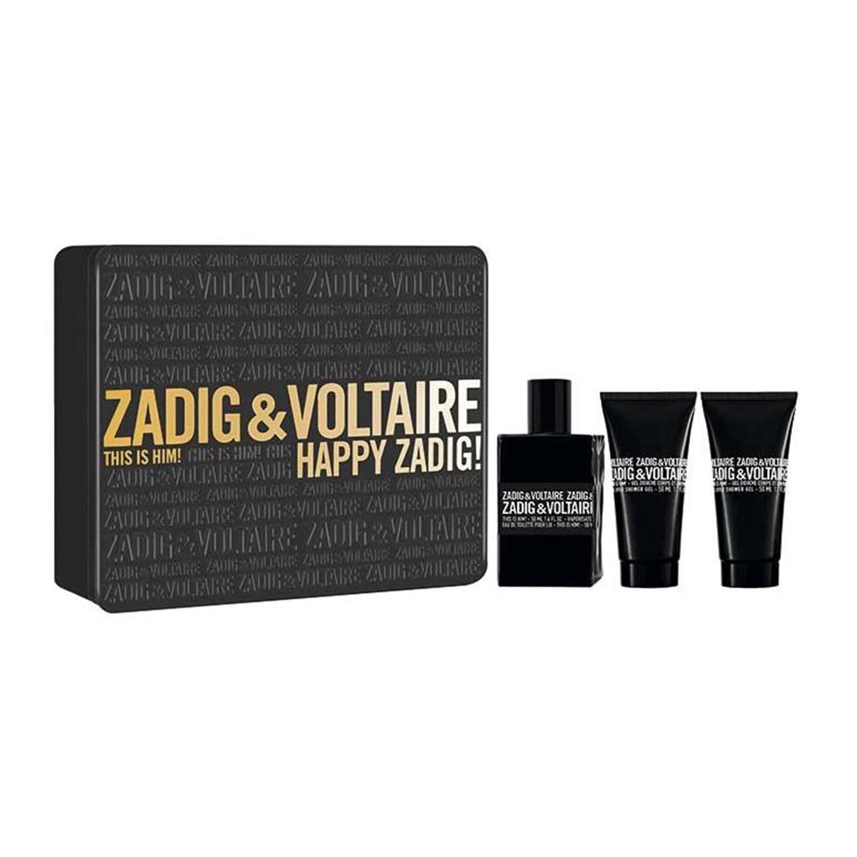 Zadig voltaire this is him eau de toilette 50ml vaporizador shower gel 50ml shower gel 50ml