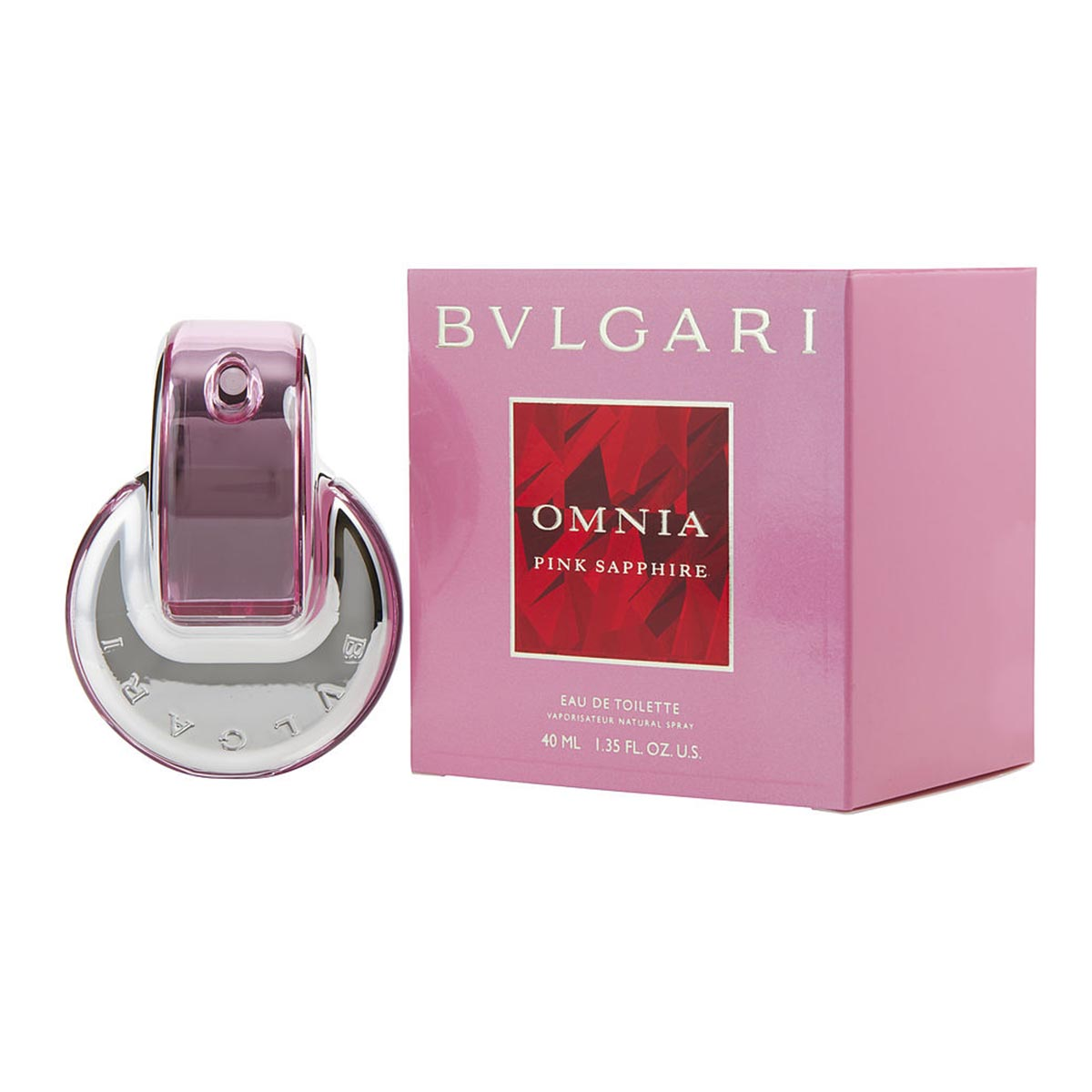 Bvlgari omnia pink sapphite eau de toilette 40ml vaporizador