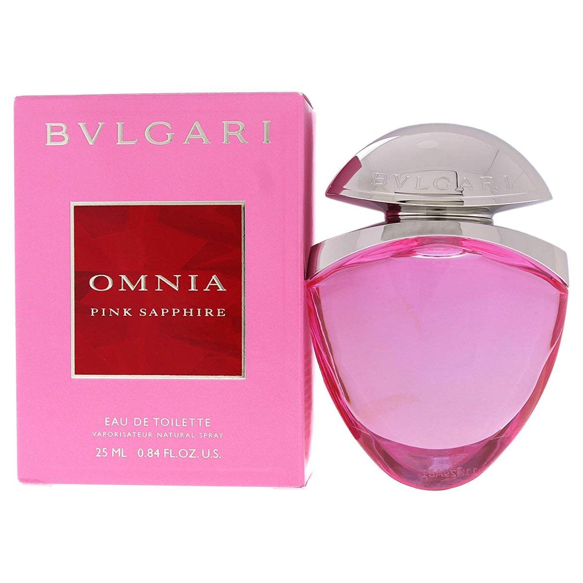 Bvlgari omnia pink sapphite eau de toilette 25ml
