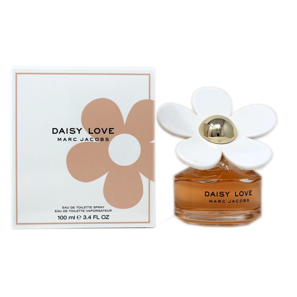 Marc jacobs daisy love eau de toilette 100ml vaporizador