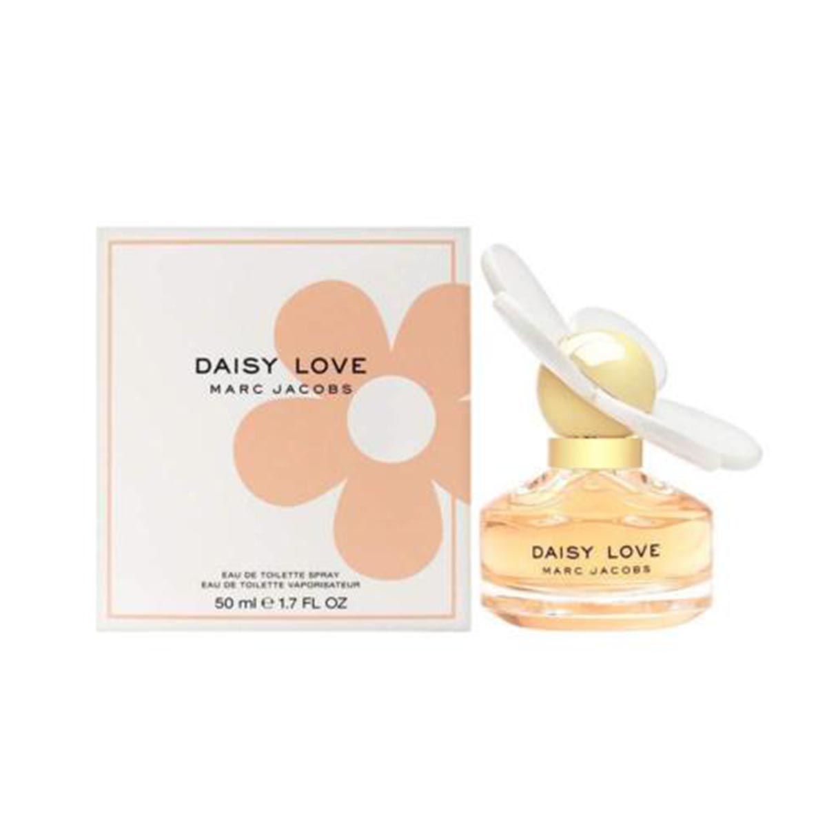 Marc jacobs daisy love eau de toilette 50ml vaporizador