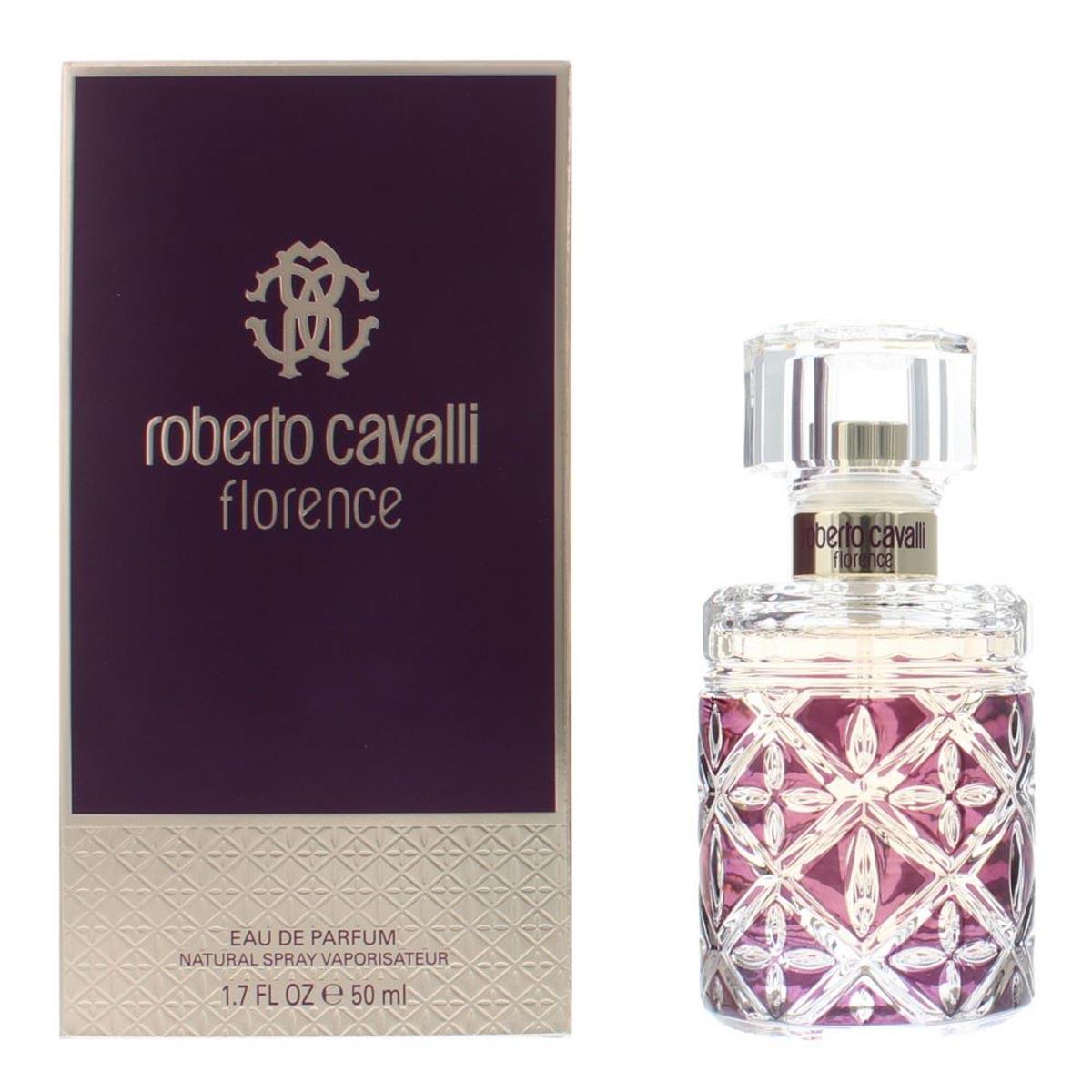 Roberto cavalli florence eau de parfum 50ml vaporizador