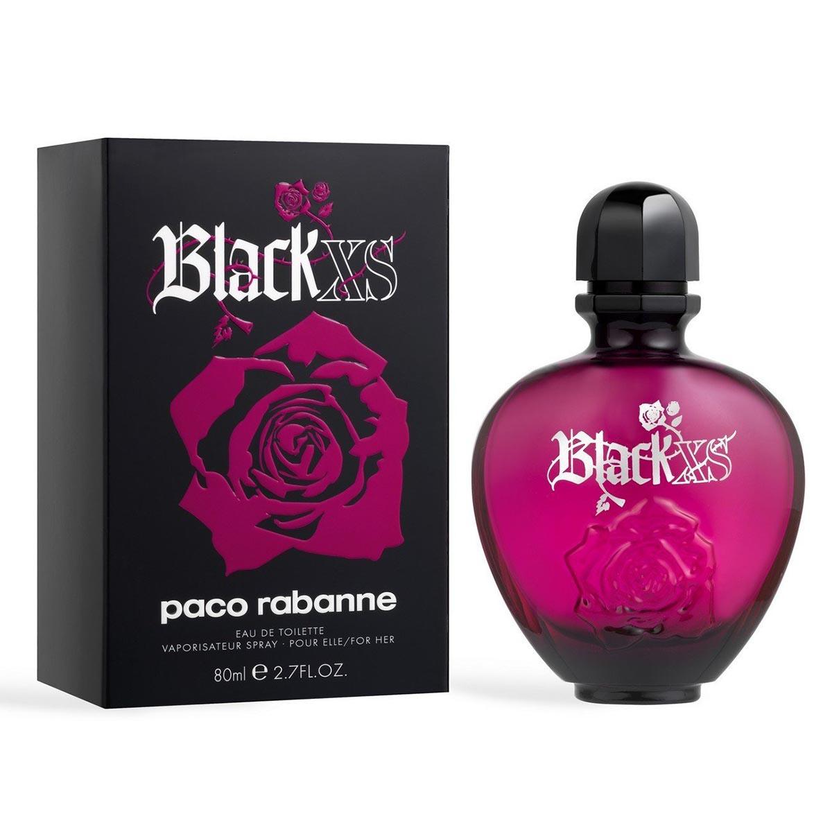 Paco rabanne black xs eau de parfum 80ml vaporizador