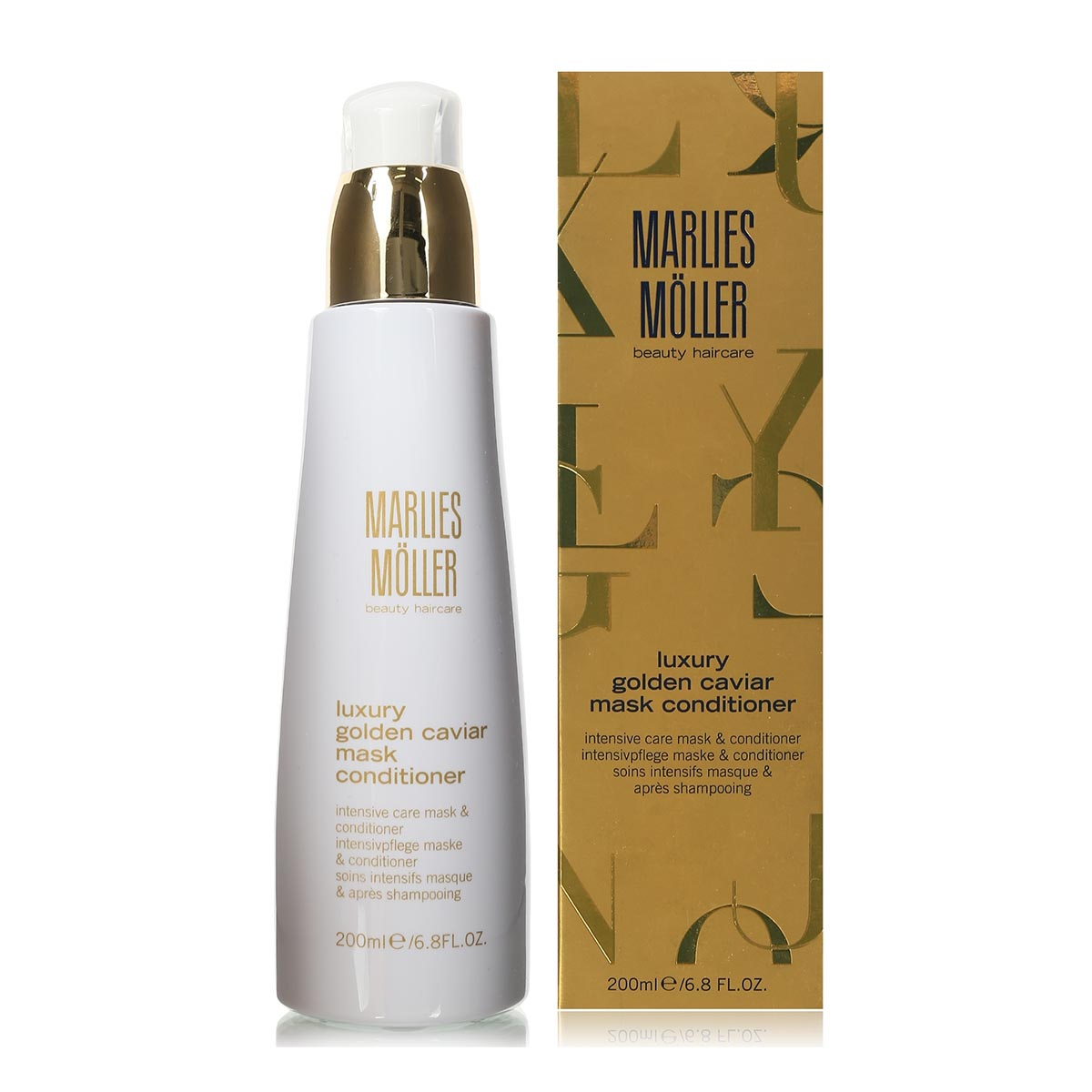 Marlies moller luxury caviar beauty mascarilla acondicionador 200ml