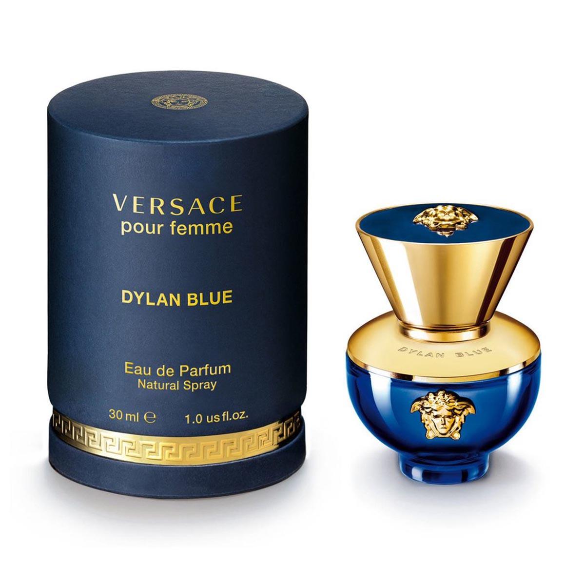 Versace pour femme dylan blue eau de parfum 30ml vaporizador