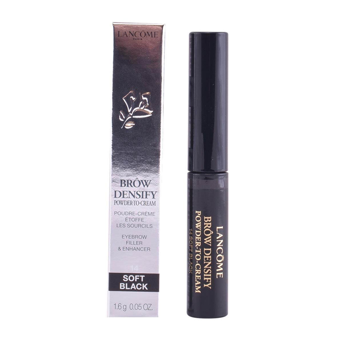 Lancome brow densify powder to cream 14 soft black
