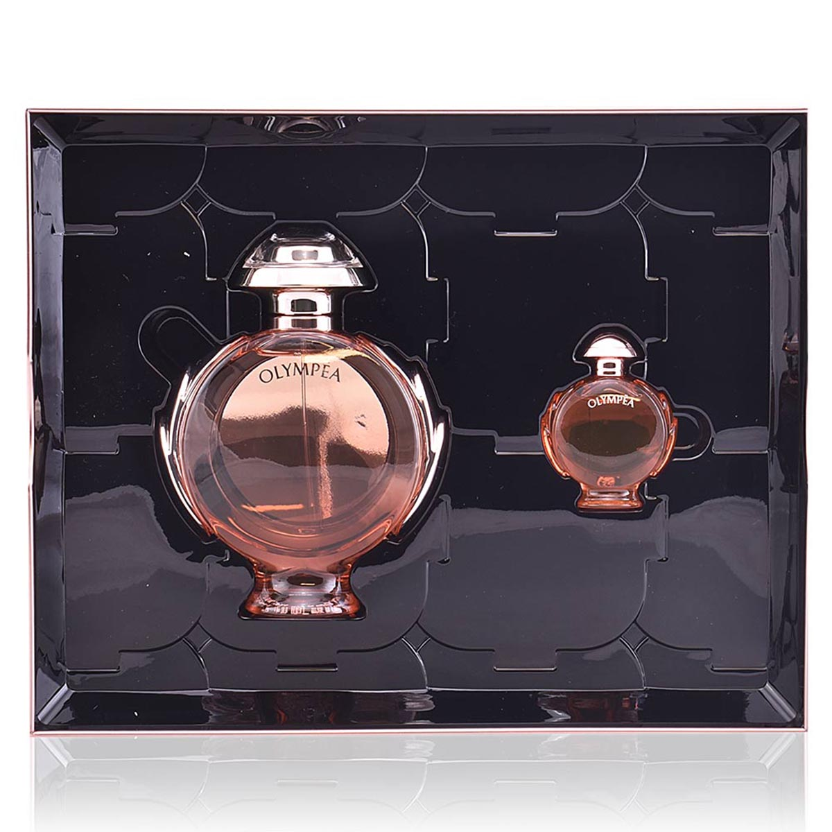 Paco rabanne olympea aqua eau de parfum 80ml vaporizador miniatura 6ml