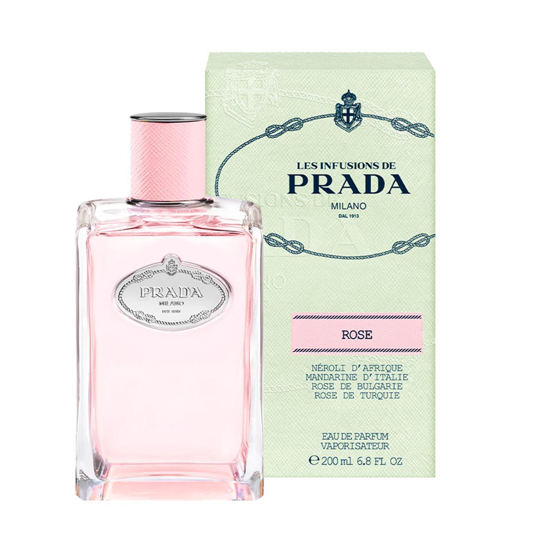 Prada infusion de rose eau de parfum 200ml vaporizador