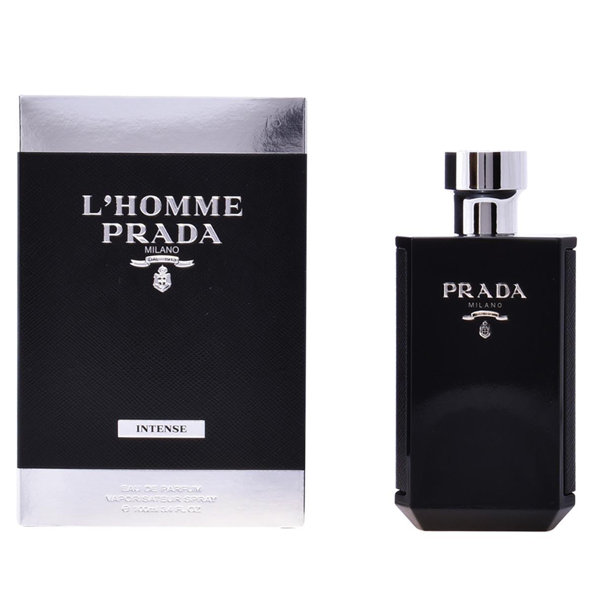 Prada homme intense eau de parfum 100ml vaporizador
