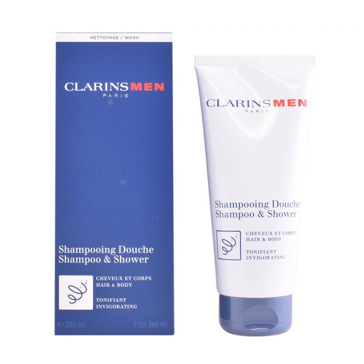Clarins men shampo shower 200ml