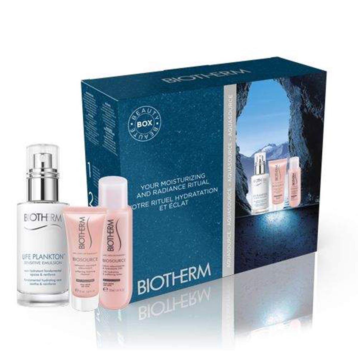 Biotherm life plankton sensitive emulsion 50ml nettoyant 50ml lotion 100ml piel seca