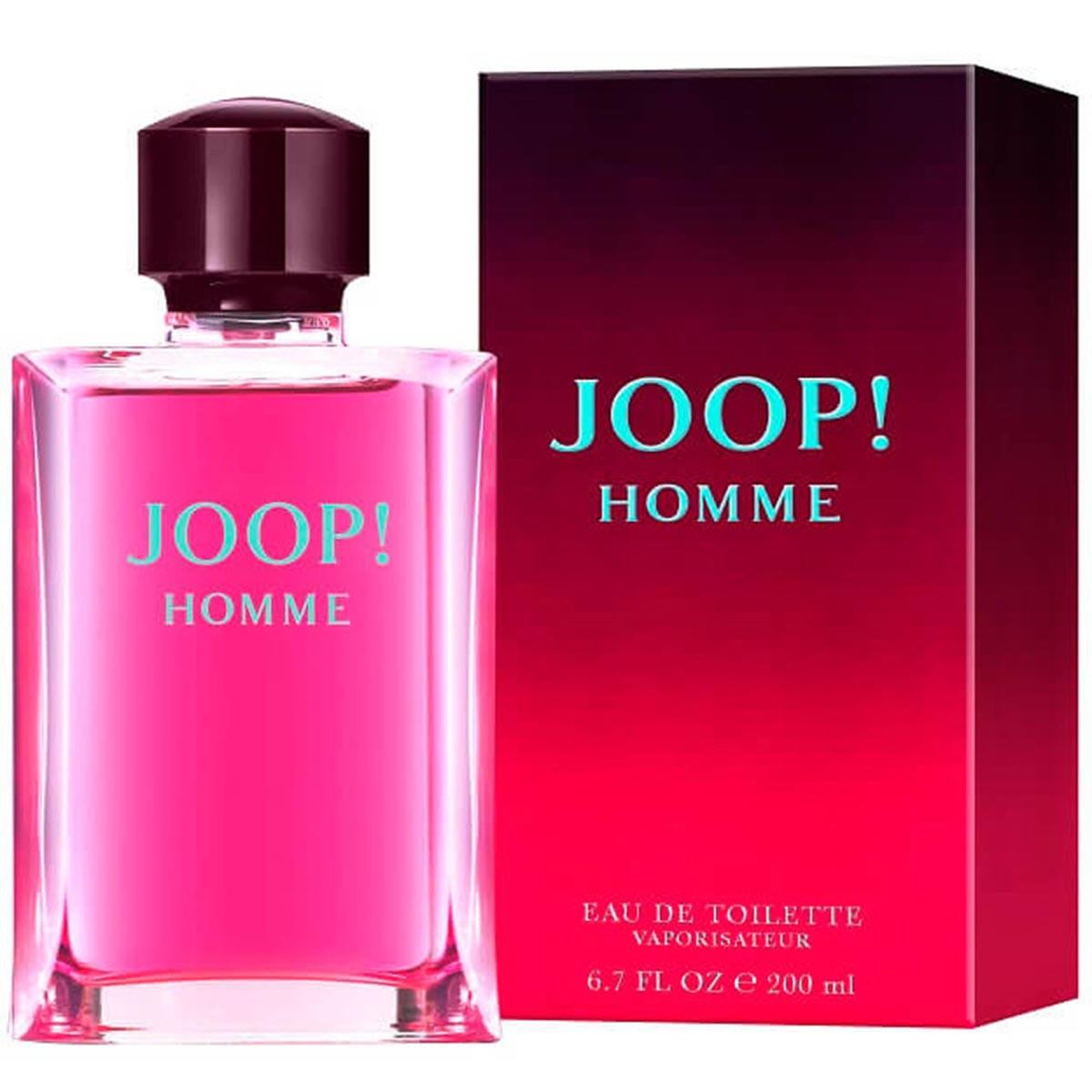 Joop homme eau de toilette 200ml vaporizador