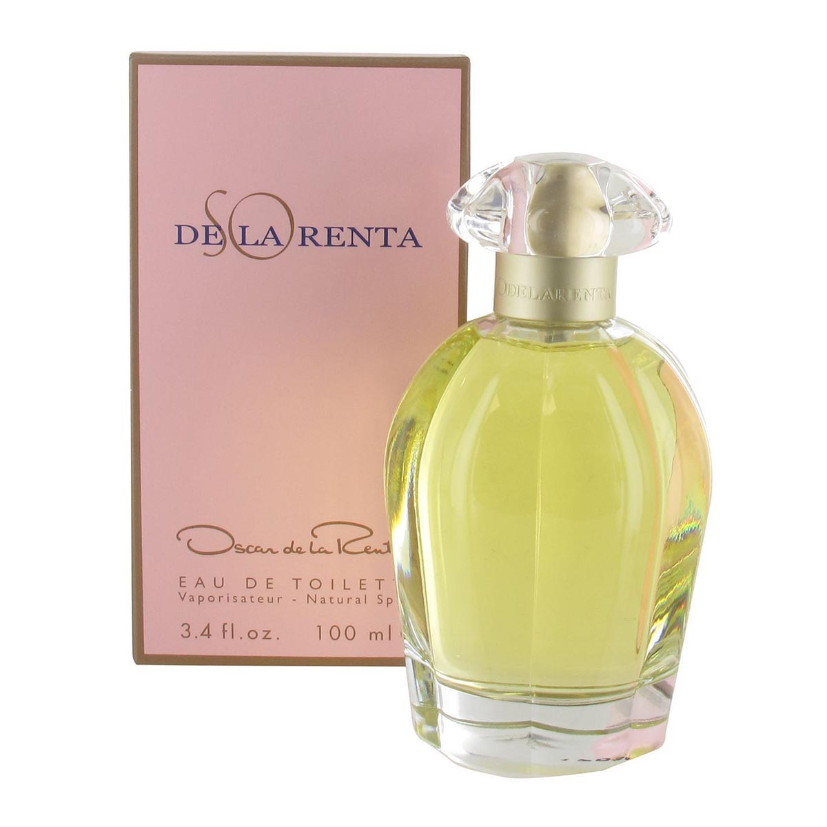 Oscar de la renta so eau de toillette 100ml vaporizador