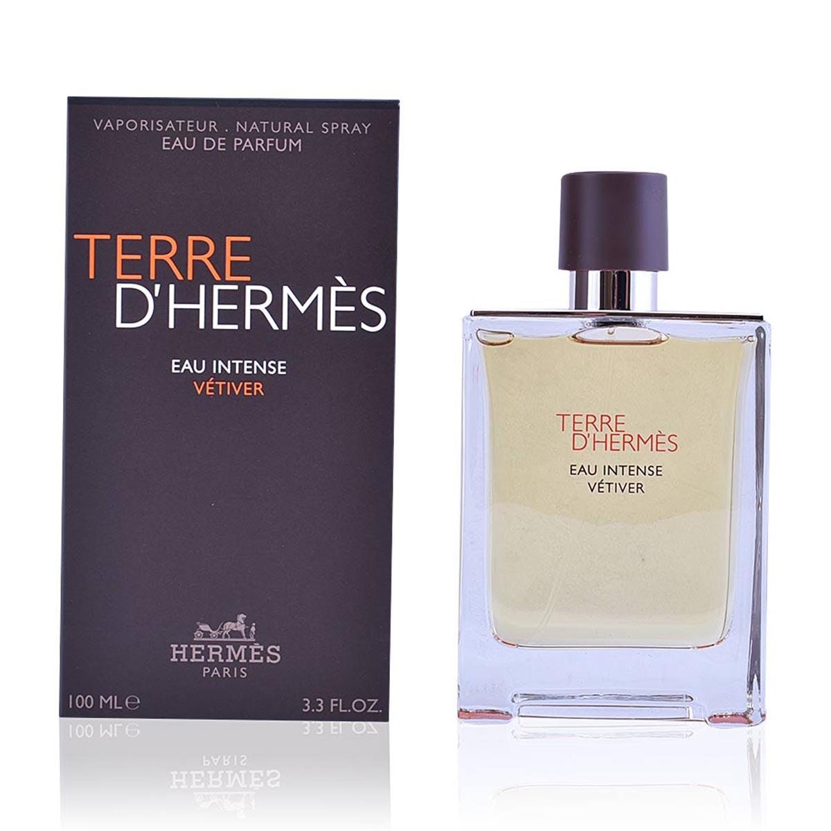Hermes paris terre d hermes eau intense vetiver eau de parfum 100ml vaporizador