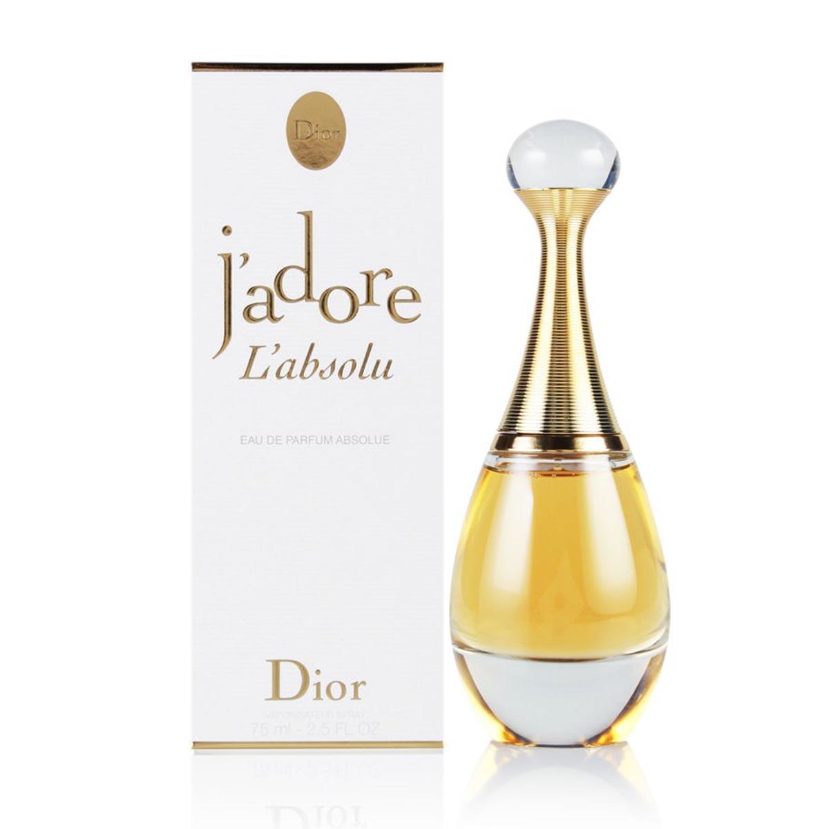 Dior j adore l absolu eau de parfum 75ml vaporizador