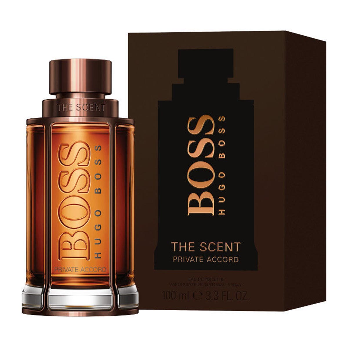 Hugo boss scent private eau de toilette 100ml vaporizador