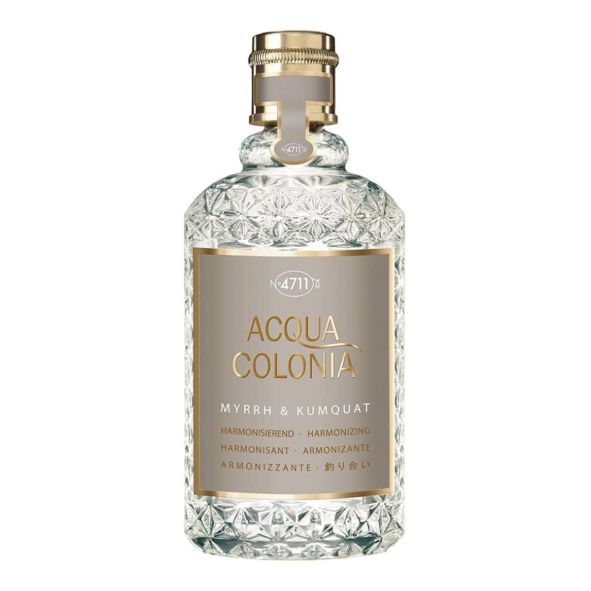 4711 acqua colonia mirra kumquat eau de cologne 170ml vaporizador