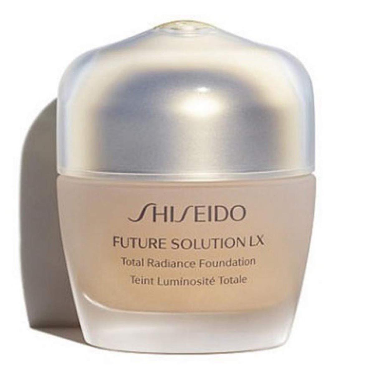 Shiseido future solution lx total radiance foundation r4 rose