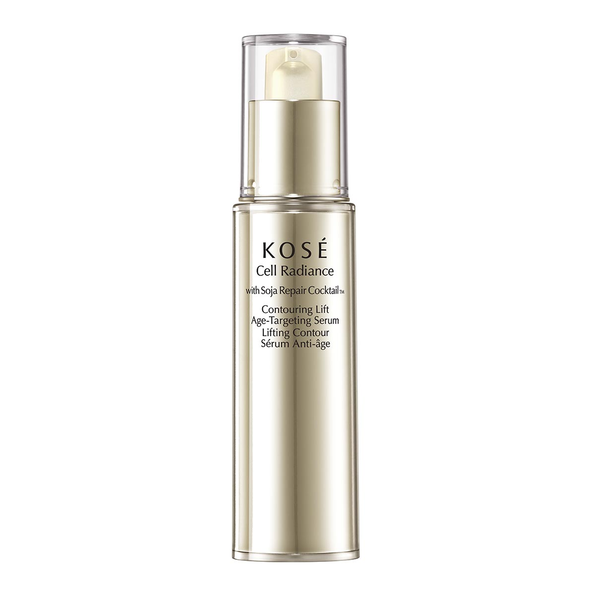 Kose cell radiance with soja repair cocktail tm contouring lift age targeting serum 30ml