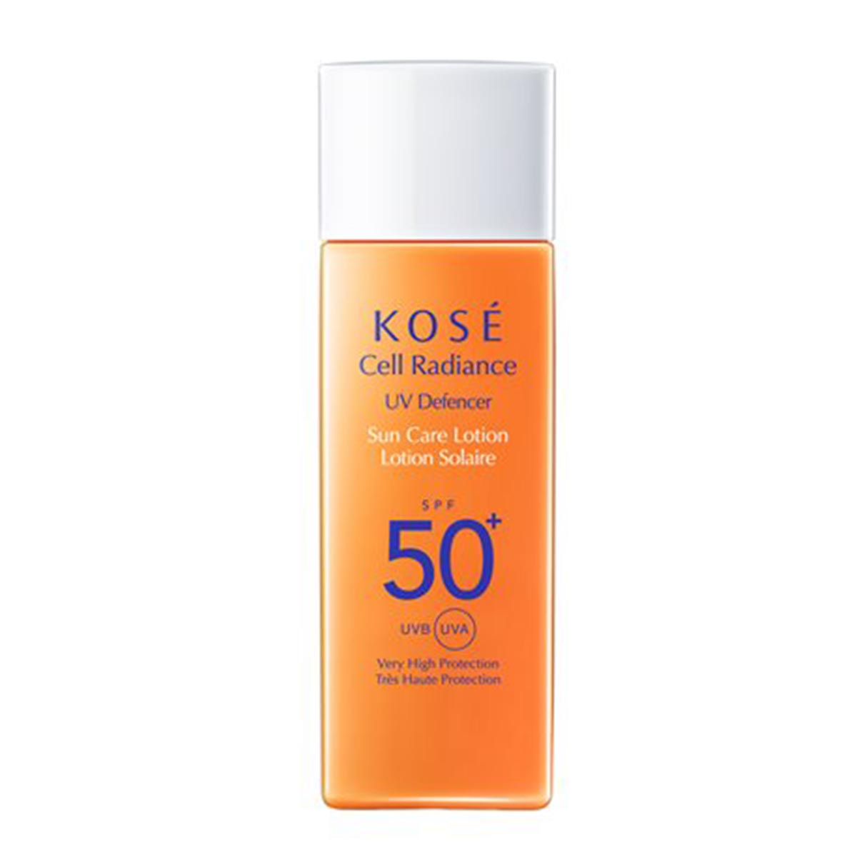 Kose cell radiance uv defencer sun care lotion 50ml